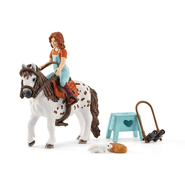Schleich Horse Club Mia & Spotty 42518