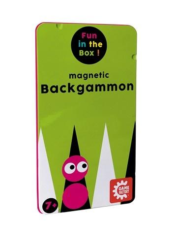 Reisespiel Backgammon magnetisch