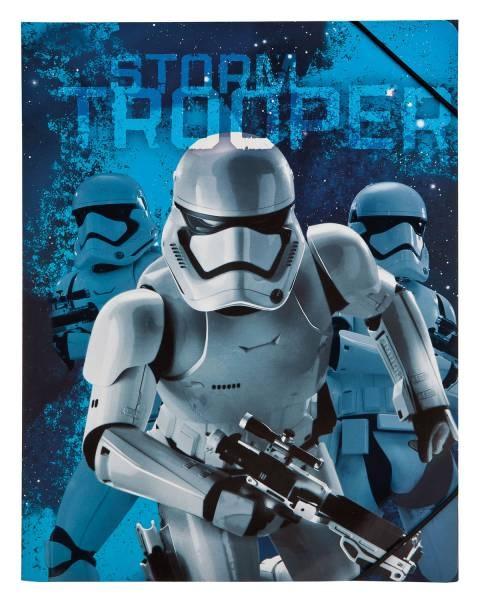 Star Wars Gummizugmappe A4 Sammelmappe