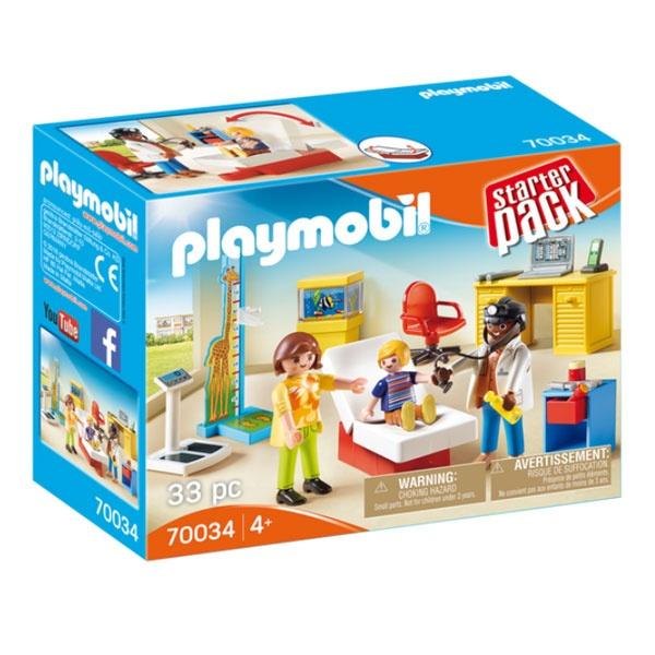 Playmobil 70034 City Life StarterPack Beim Kinderarzt