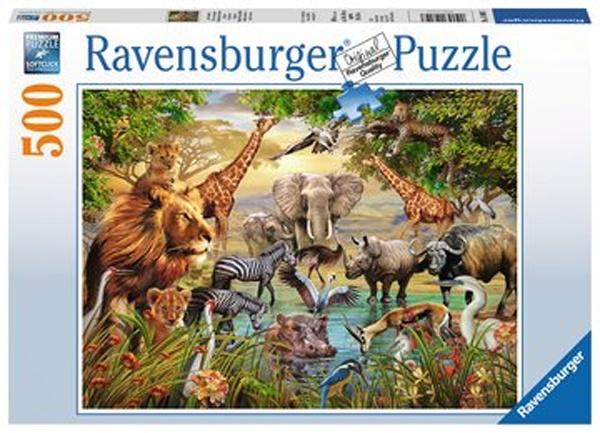 Ravensburger Puzzle Am Wasserloch