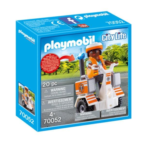 Playmobil 70052 City Life Rettungs-Balance-Roller