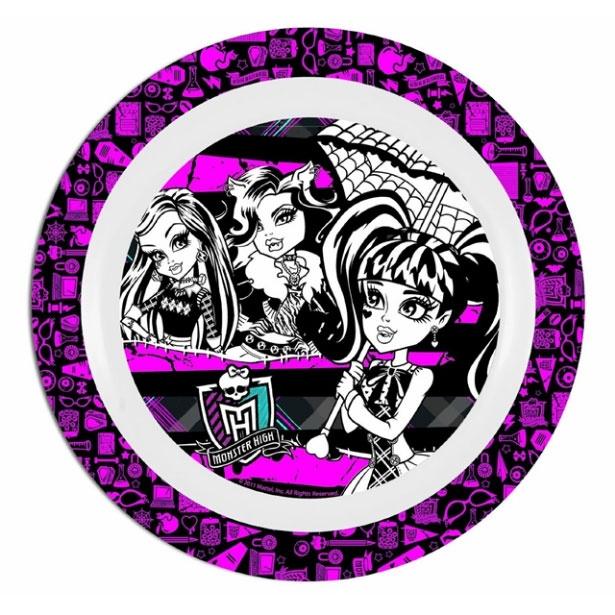 Monster High Teller aus Melamin 22 cm