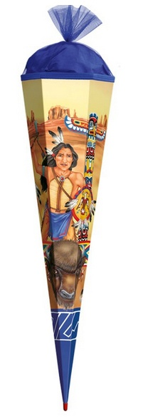 Roth Schultüte Indianer 85 cm