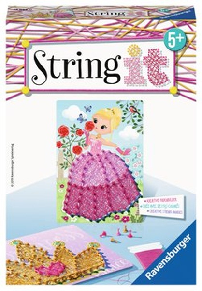 Ravensburger Bastelset String it Mini Pink Princess