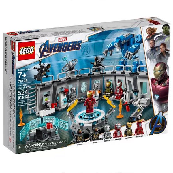 Lego Super Heroes 76125 Iron Mans Werkstatt