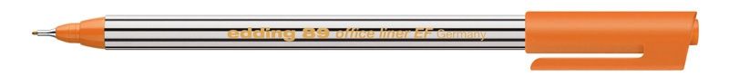 Edding 89 office liner EF Fineliner orange