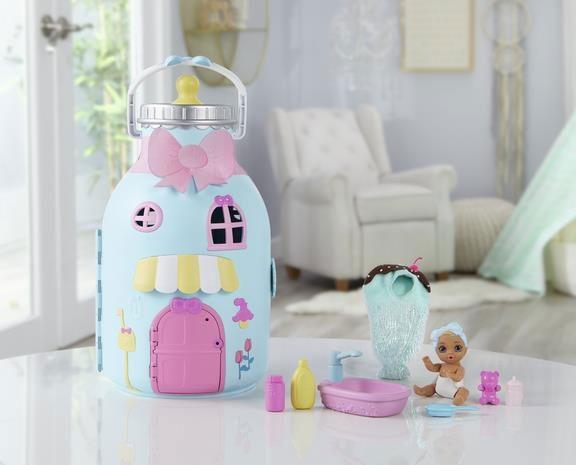 Zapf Baby born Surprise Baby Puppen Bottle House
