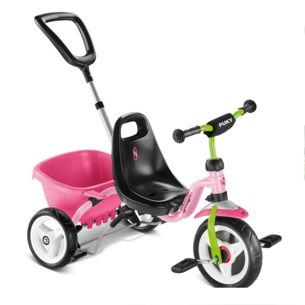 Puky 2215 Dreirad Cat 1S rose/kiwi
