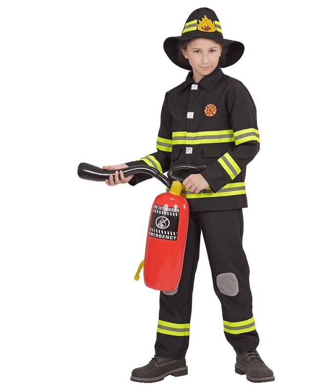 Kostüm Feuerwehrmann Gr. 140