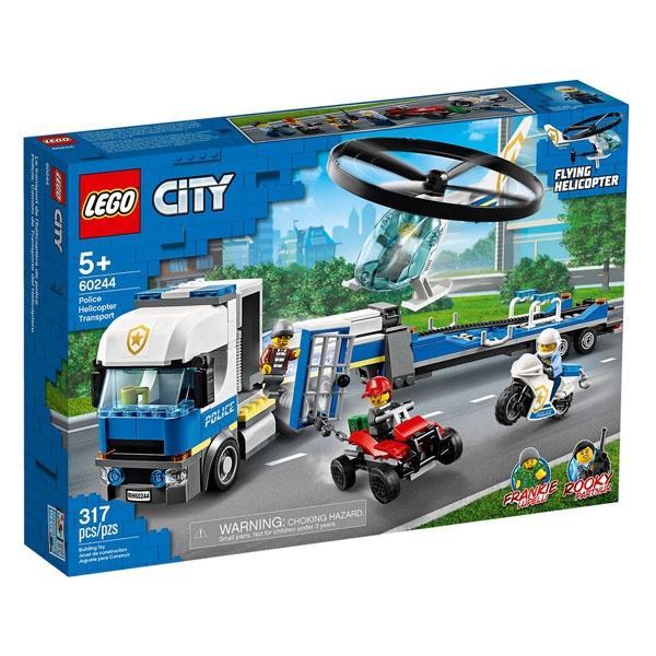 Lego City 60244 Polizeihubschrauber-Transport