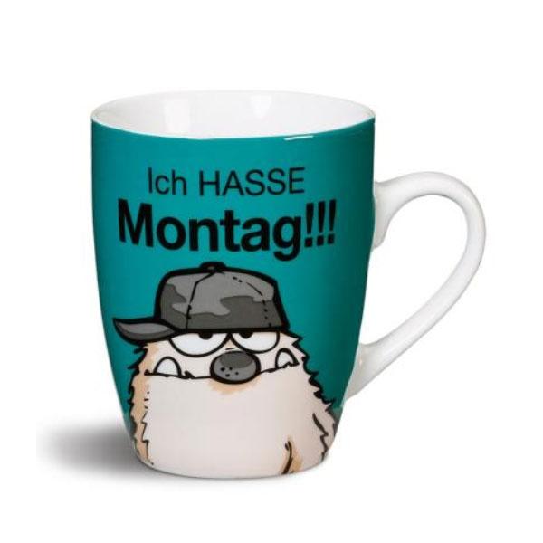 Tasse -Ich hasse Montag-