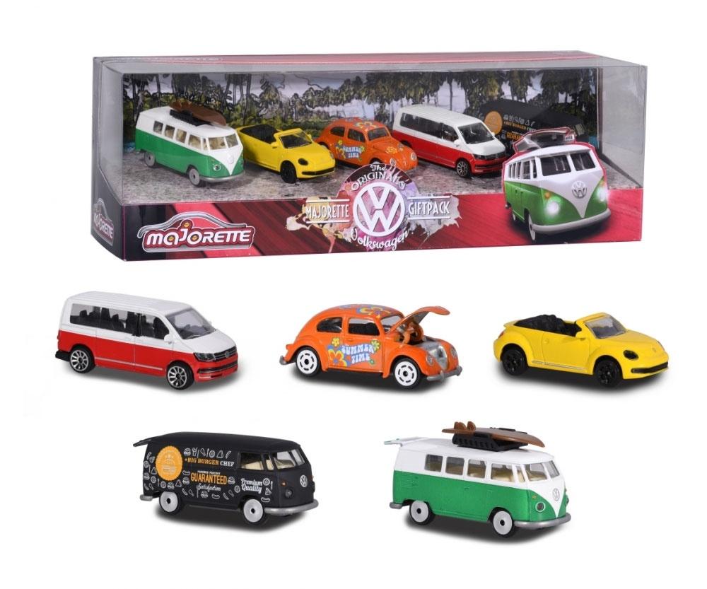 Volkswagen Modellauto Set Käfer, Bulli, Beetle