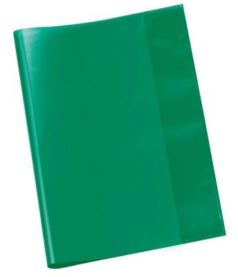 Hefthülle A5 grün transparent
