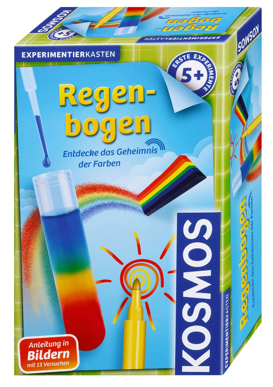Regenbogen Experimentierkasten von Kosmos