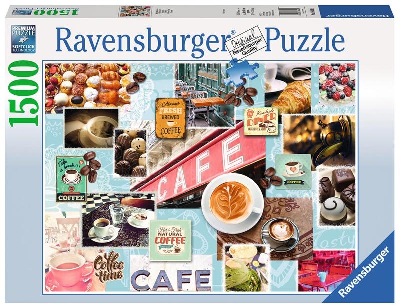 Ravensburger Puzzle Kaffee und Kuchen 1500 Teile