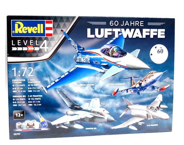 Revell 05797 60 Jahre Luftwaffe Geschenkset 1:72