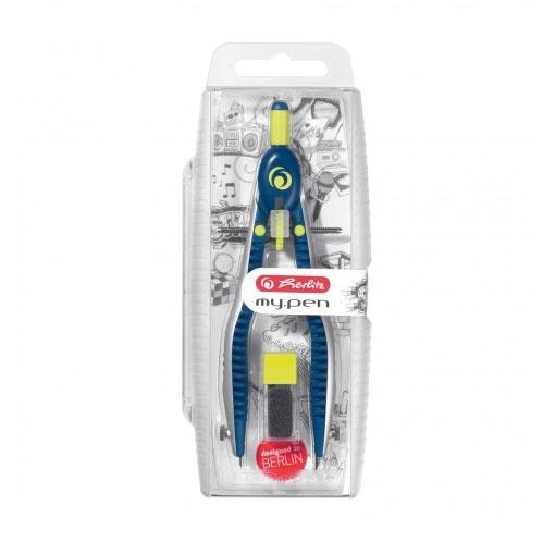 Herlitz Schnellverstellzirkel my pen blau/lemon
