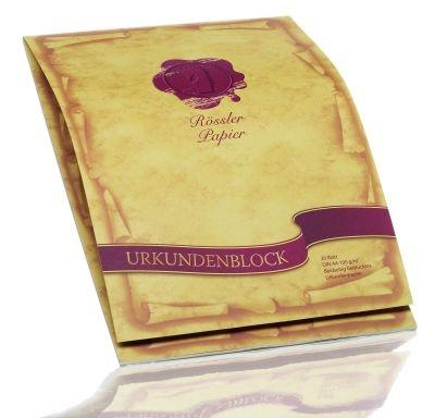 Urkundenblock A4