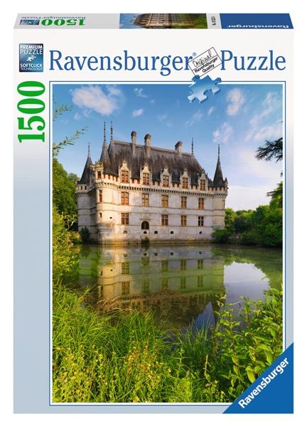 Ravensburger Puzzle Schloss Azay le Rideau Loiretal 1500