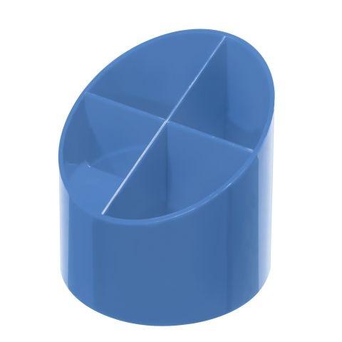 Herlitz Köcher hochglanz baltic blau