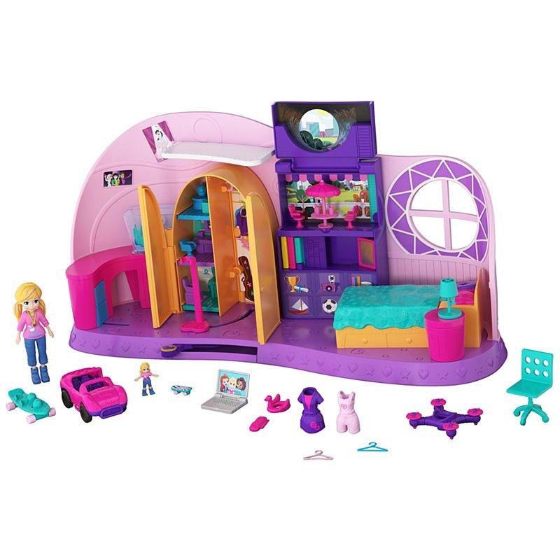 Polly Pocket Und Klein Zimmer Spielset von Mattel FRY98