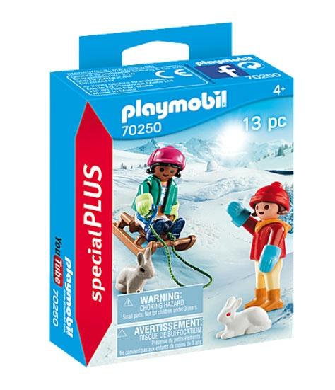 Playmobil 70250 specialPlus Kinder mit Schlitten