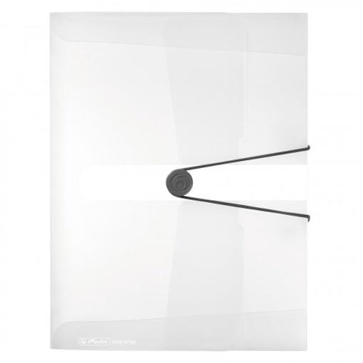 Herlitz Sammelbox easy erga to go A4 farblos transparent