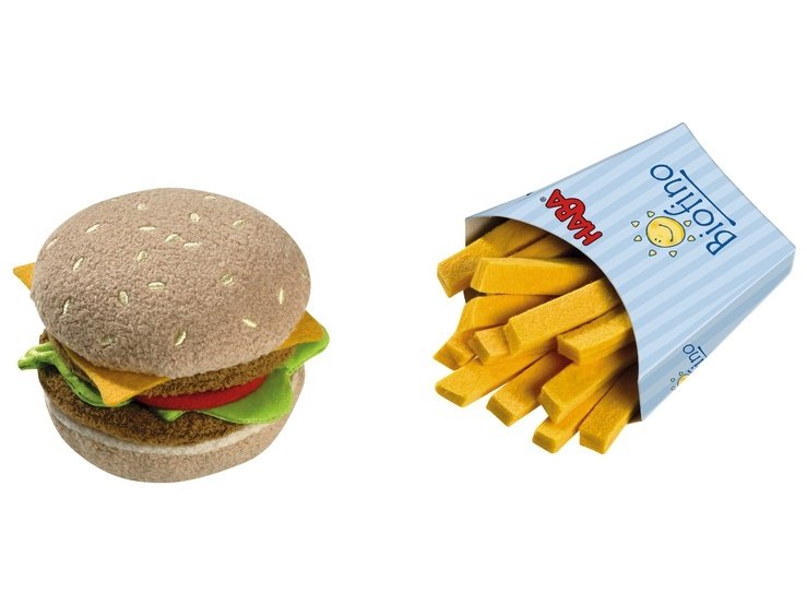 Biofino Hamburger m. Pommes