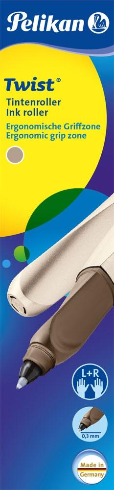 Pelikan Tintenroller Twist R457 bronze