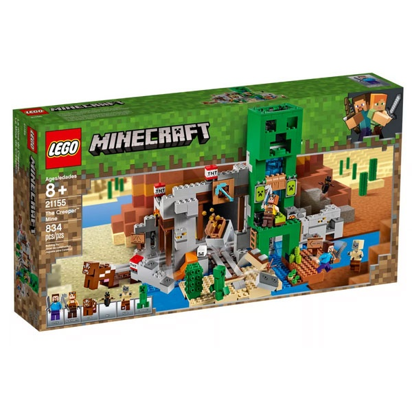 Lego Minecraft 21155 Die Creepe  Mine