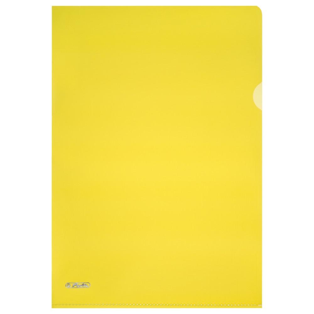 Aktenhüllen A4 Pyramide gelb 10er