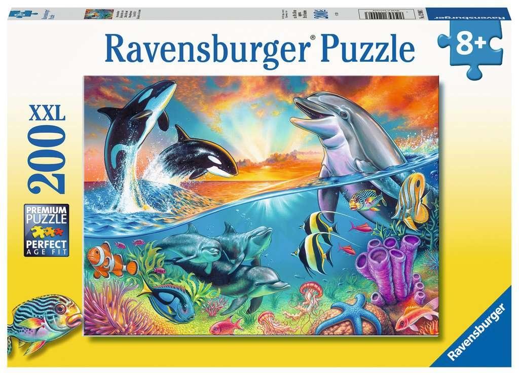 Ravensburger Puzzle Ozeanbewohner 200 Teile XXL