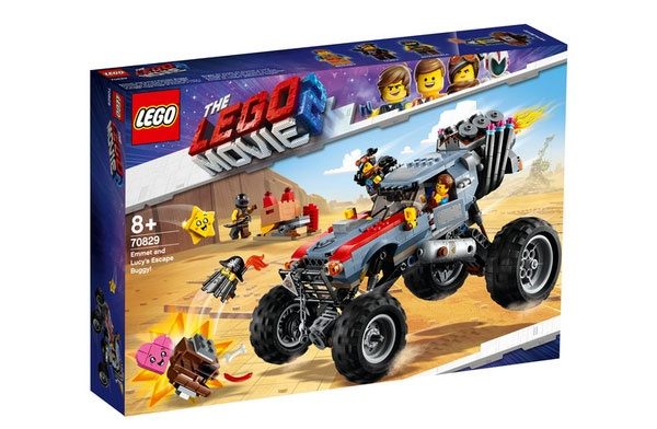 Lego Movie 2 70829 Emmets und Lucys Flucht-Buggy