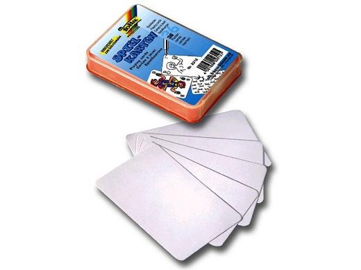 Folia Blanko Spielkarten