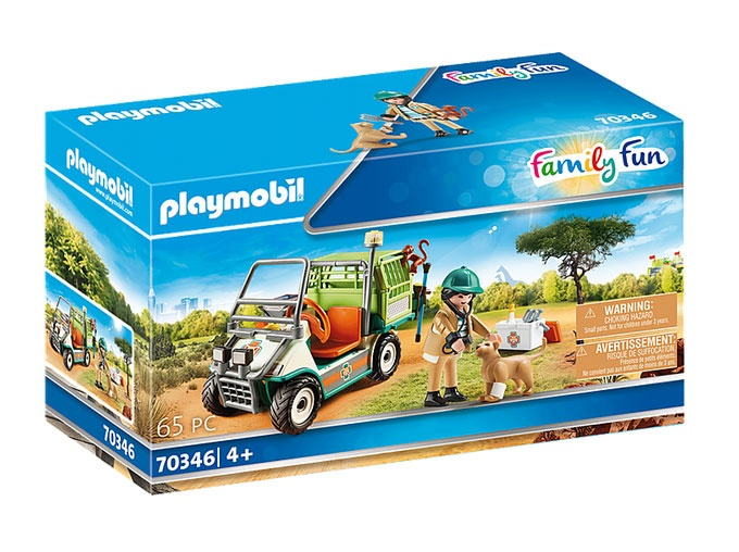 Playmobil 70346 Family Fun Zoo-Tierarzt mit Fahrzeug