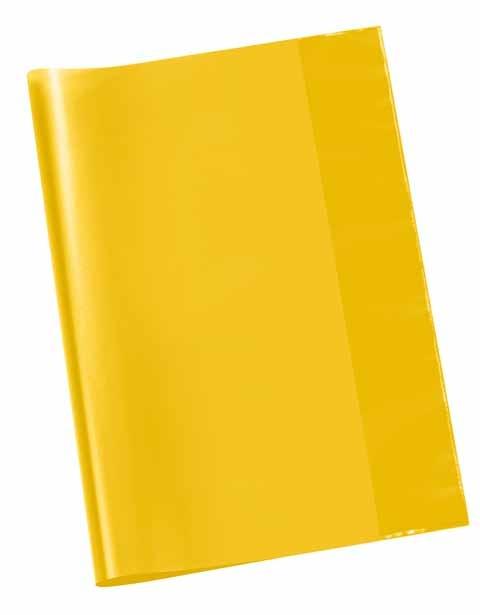 Hefthülle A4 transparent gelb