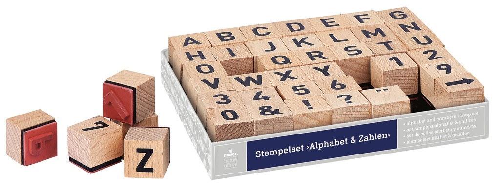 Stempelset Alphabet & Zahlen