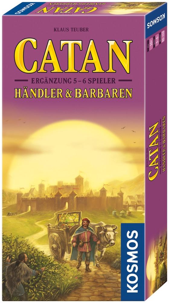 Die Siedler von Catan Ergänzung Händler & Barbaren v. Kosmos