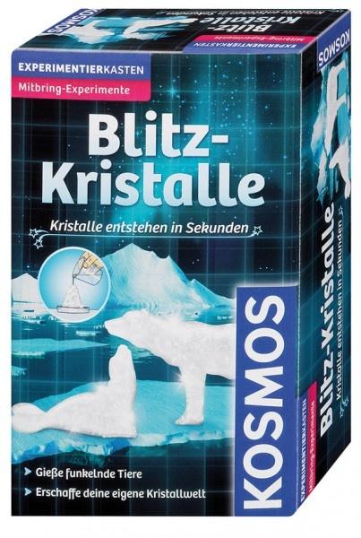 Blitz-Kristalle Kristalle in Sekunden züchten