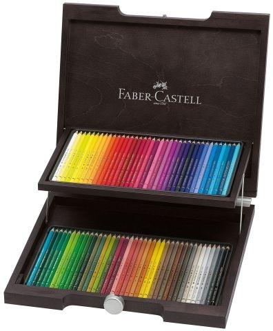 Faber Castell Farbstift Polychromos 72er Holzkoffer