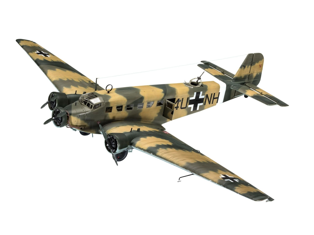 Revell 03918 Junkers Ju52/3mg4e Transport 1:48
