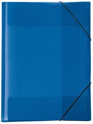 Veloflex Sammelmappe A4 blau transparent