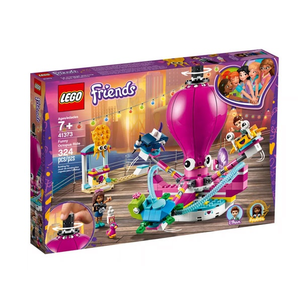 Lego Friends 41373 Lustiges Oktopus-Karussell