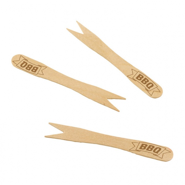 BBQ Mini-Holzgabeln 20 Stück