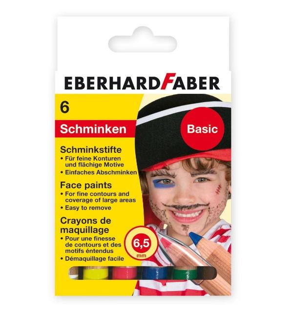 Faber Schminkstifte 6er Basic