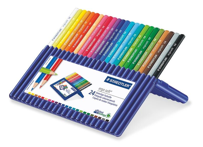 Farbstifte ergosoft 24 Stück in der Box