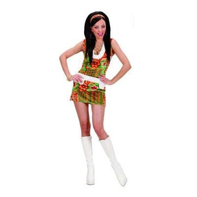 Kostüm Hippie 60er L Frau