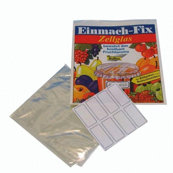 Einmach-Fix Zellglas 3 Bogen 60x34 cm