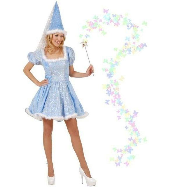 Kostüm Sternenfee Fee blau Gr. M